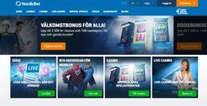 Permalink to:NordicBet har bra spelutbud och lång historia